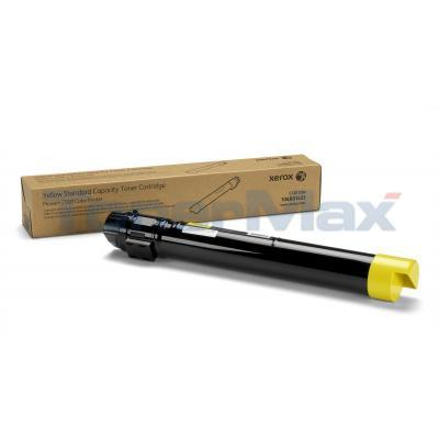 XEROX PHASER 7500 TONER CART YELLOW 9.6K